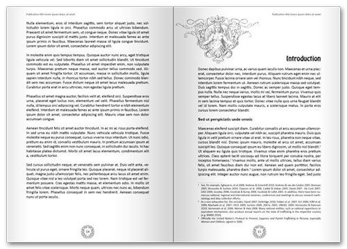 Free InDesign book template spread 7