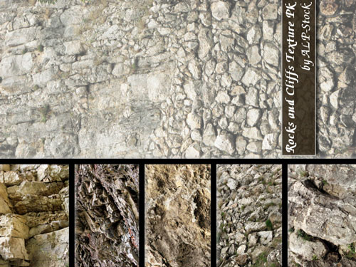 rock and cliffs textures