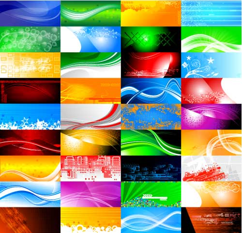 Free abstract vector backgrounds 9