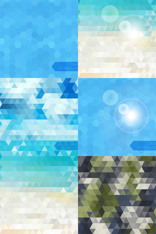 Free abstract vector backgrounds 2