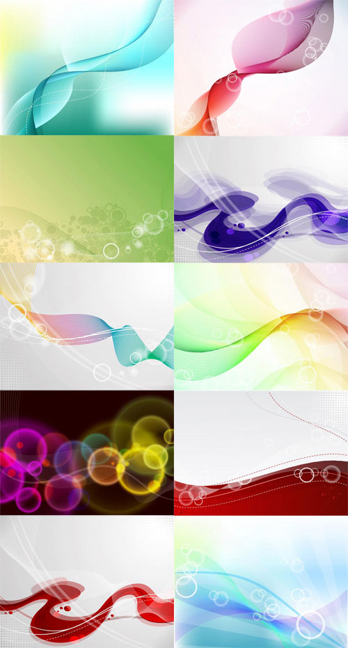 Free abstract vector backgrounds 4