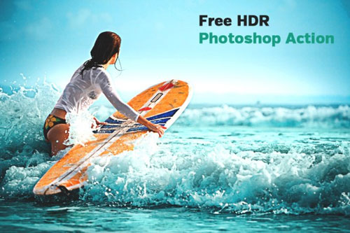 Free Photoshop action 13