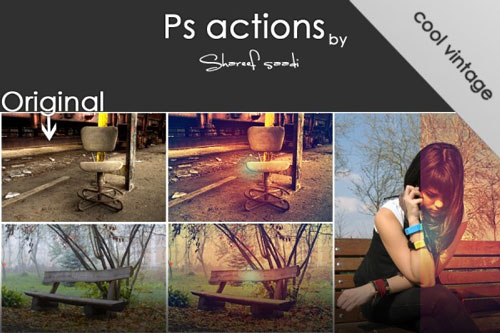 Free Photoshop action 19