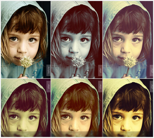 Free Photoshop actions 8