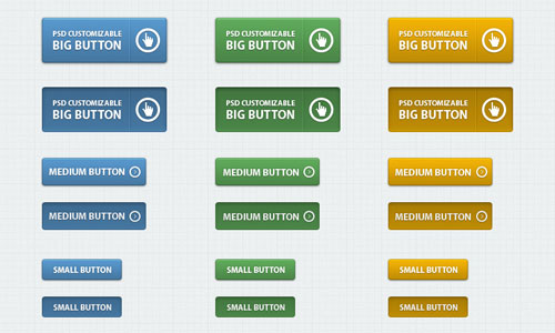 Free PSD web buttons 10