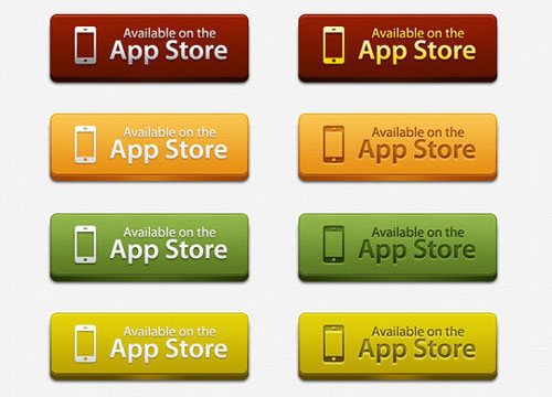 Free PSD web buttons 8