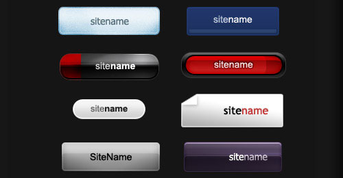 Free PSD web buttons 1