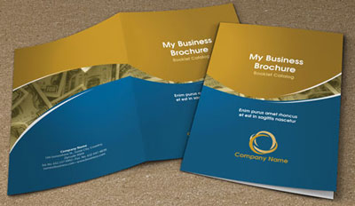 Free bifold booklet flyer brochure indesign template 2