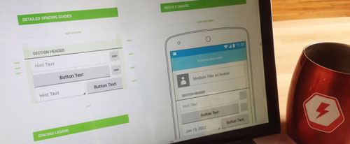 Boltmade Android UI vector design toolkit 2