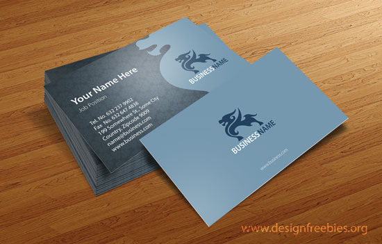 Free vector business card design templates 2014 vol 2 designfreebies free vector business card template vol2 no2 accmission Images
