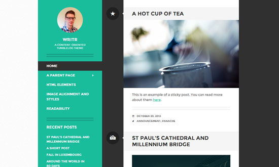 Best free wordpress theme for personal blog 14