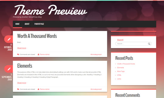 Best free wordpress theme for personal blog 8