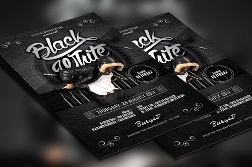 Free PSD club party flyer template 1