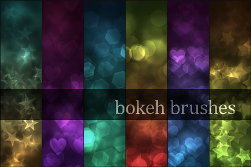 Free light effects photoshop brushes 12