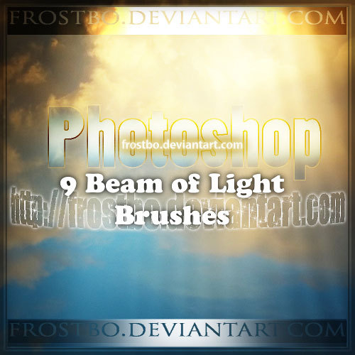 Free light effects photoshop brushes 3