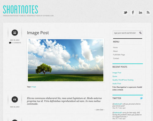 2014 free wordpress theme for personal blog 11