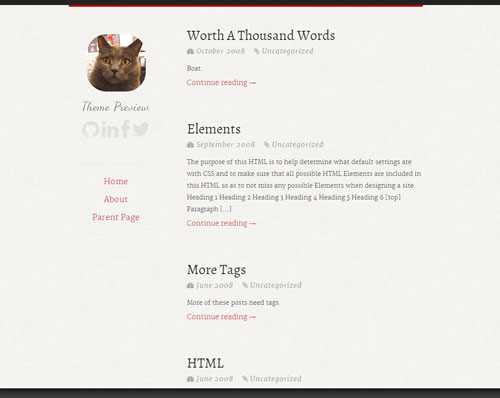 2014 free wordpress theme for personal blog 5