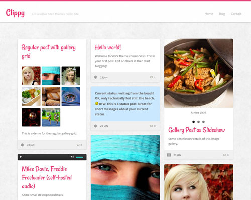 2014 free wordpress theme for personal blog 8