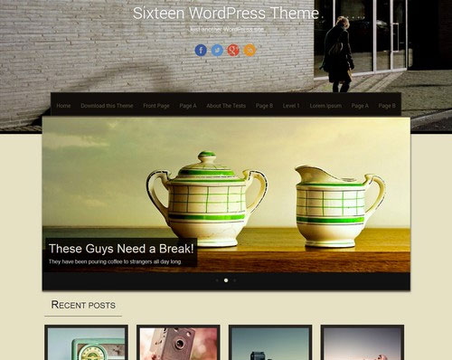 2014 free wordpress theme for personal blog 9