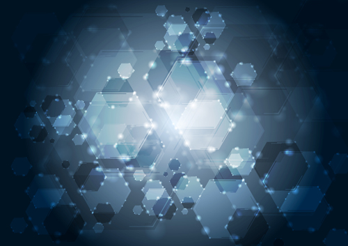 Free technology abstract vector background 2