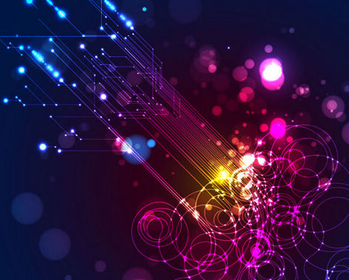 Free technology abstract vector background 4