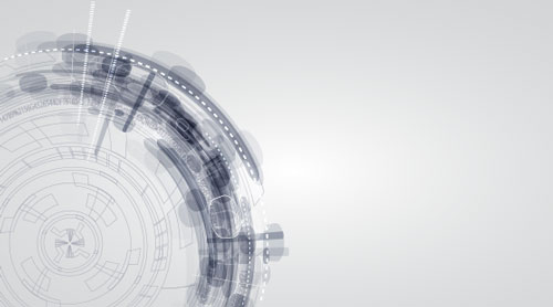 Free technology abstract vector background 7