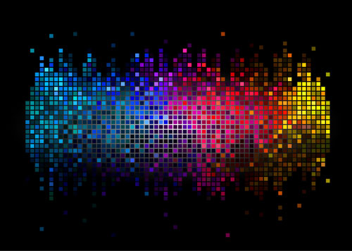 Free technology abstract vector background 9