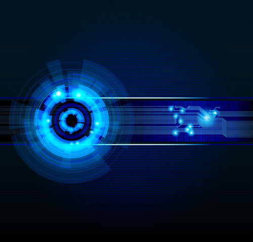 free technology abstract vector background 1