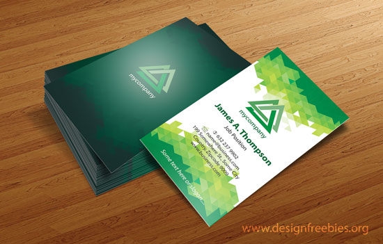 download link business card design templates illustrator vector
