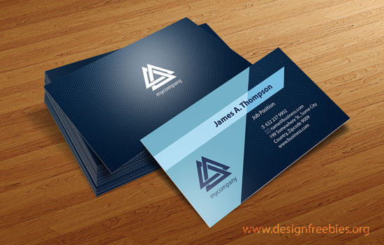 Free Vector Business Card Design Templates – Illustrator Vector Patterns #3