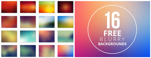 Free blurry background set 1