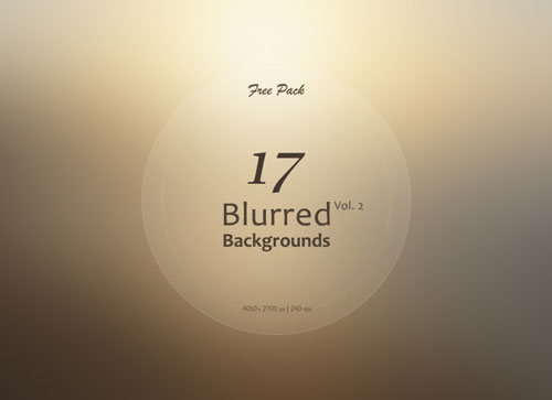 Free blurry backgrounds set 4