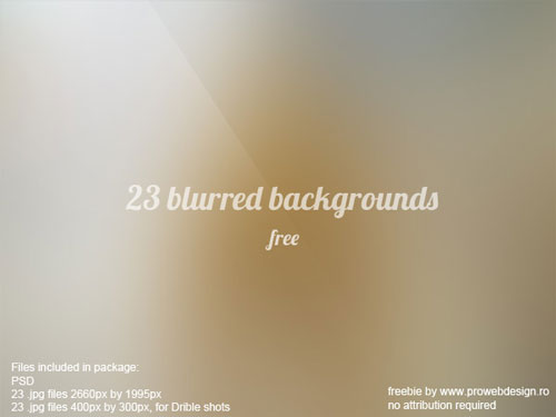Free blurry backgrounds set 6