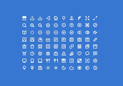 Free minimalist icon set 3