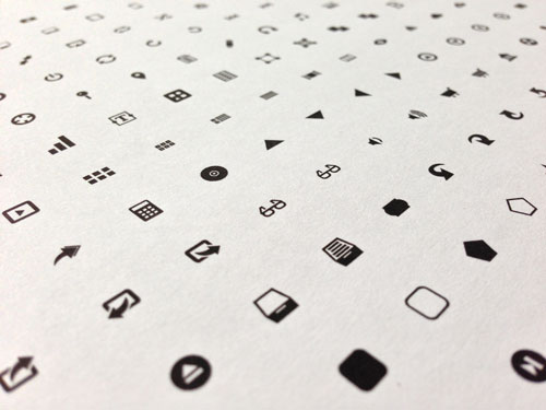 Free minimalist icon set 7