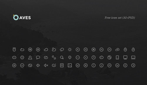 Free minimalist icon set 9
