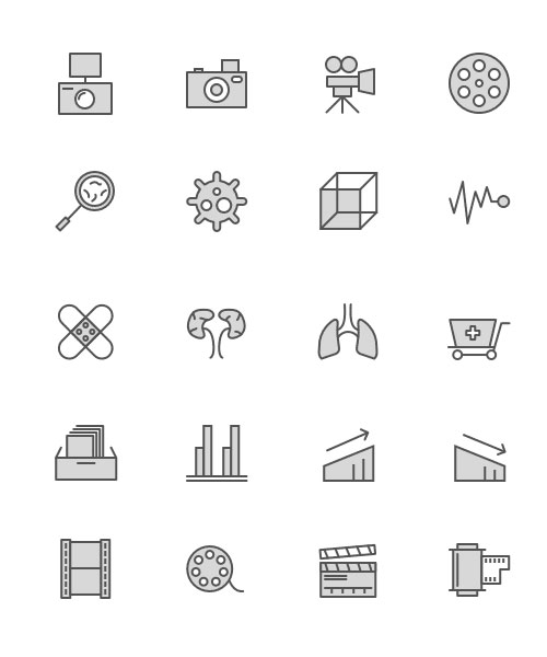 Free minimalist icon set 1