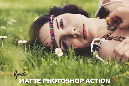 Free Photoshop action no. 1