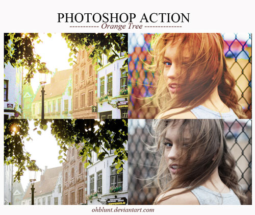 Free Photoshop action no. 15
