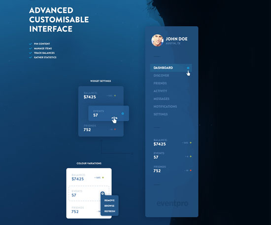 Free minimalist UI design kit 10
