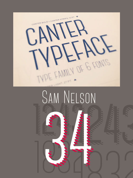 Free thin fonts - Canter