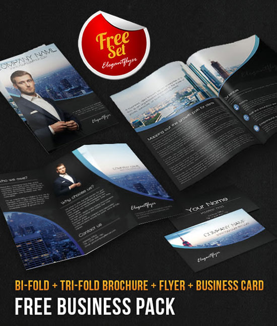 Of The Best Free Brochure Templates In Photoshop PSD - Photoshop tri fold brochure template free