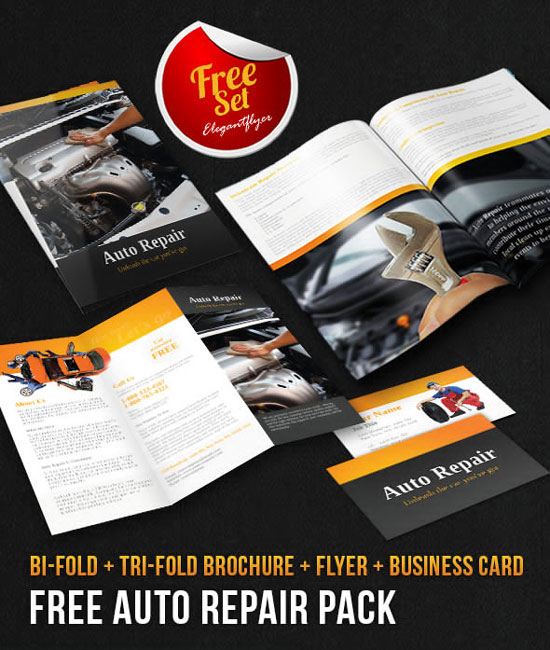 Of The Best Free Brochure Templates In Photoshop PSD - Photoshop brochure templates free