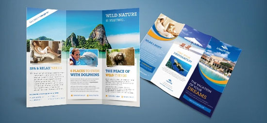 12 of the best free brochure templates in photoshop psd for How to design a brochure in photoshop