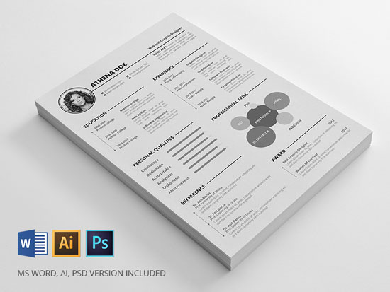 Free cv resume templates in word format 2