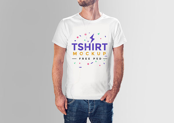 t-shirt mockup photoshop psd template 1