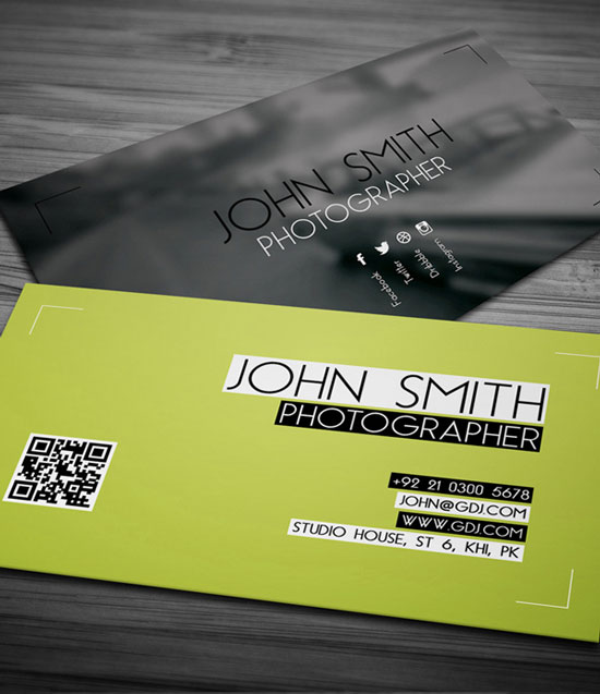 2017 free business card template 1