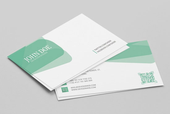 2017 free business card template 14