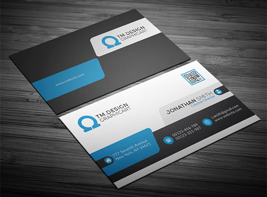 2017 free business card template 17