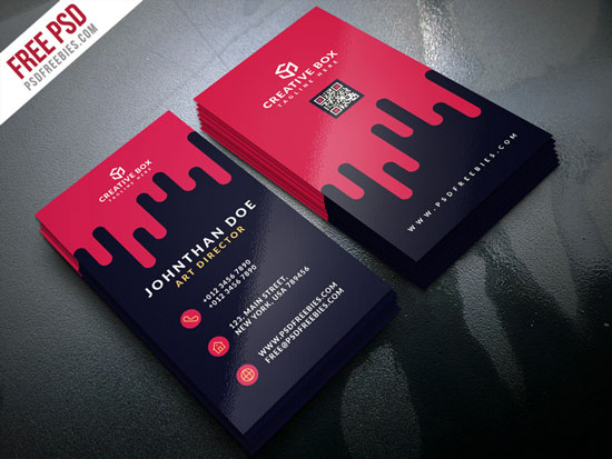 2017 free business card template 19